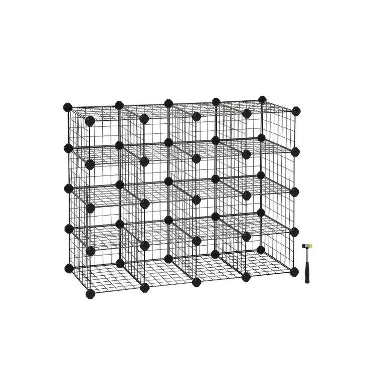 Modular Cube Shoe Organizer