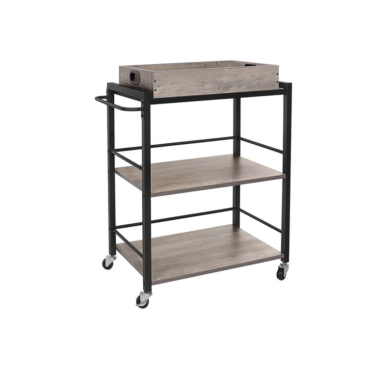Universal Casters Serving Cart