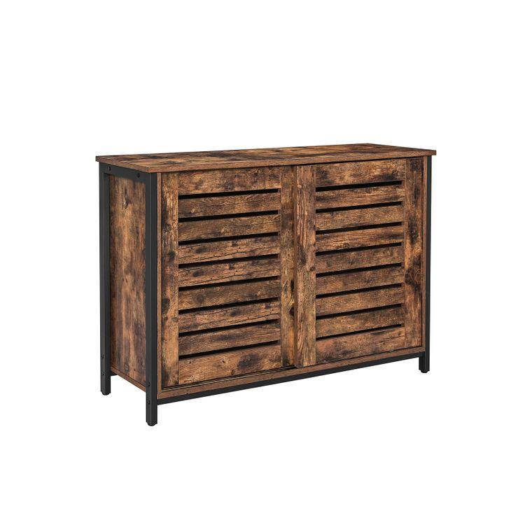 Shutter Sliding Doors Cabinet