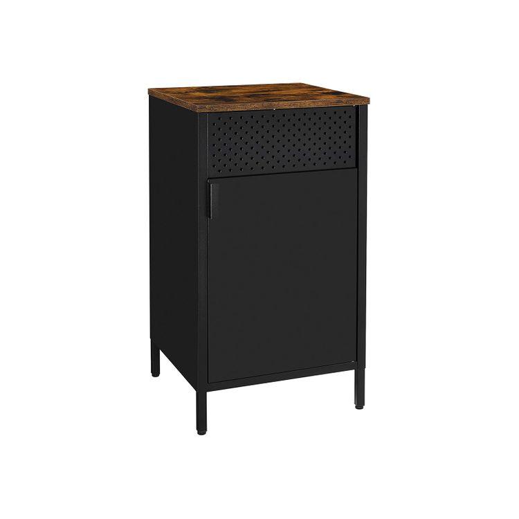 Nightstand Storage Cabinet with Door