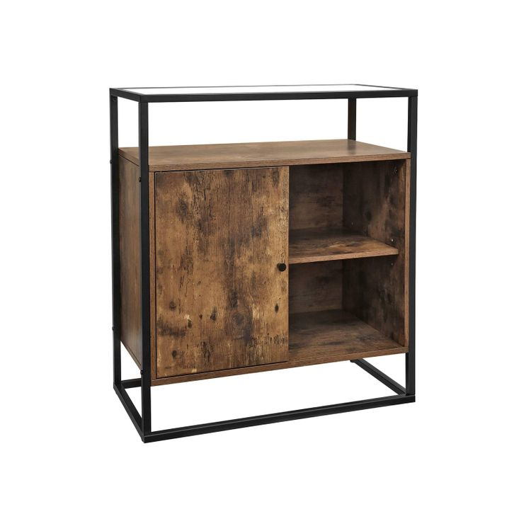 Storage Cupboard Console Table