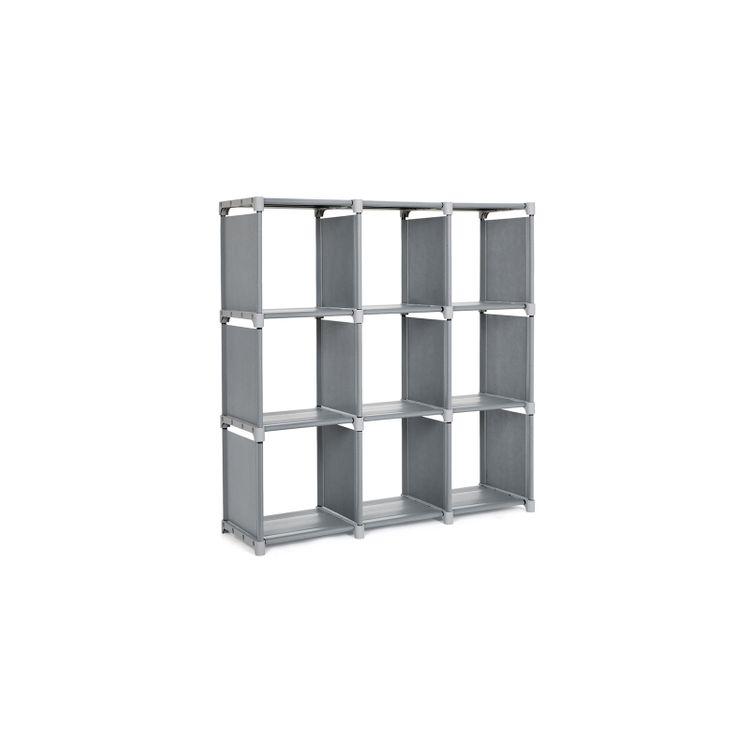 9 Cubes Bookshelf Closet