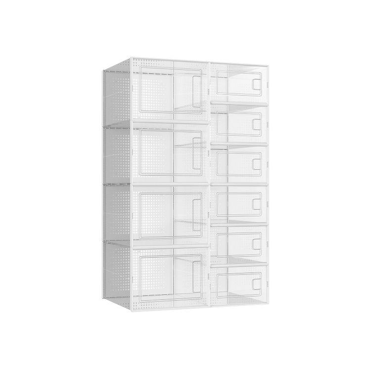 Shoe Boxes Transparent