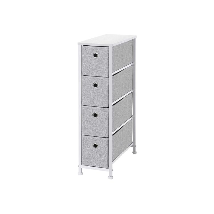 4 Drawers Narrow Dresser