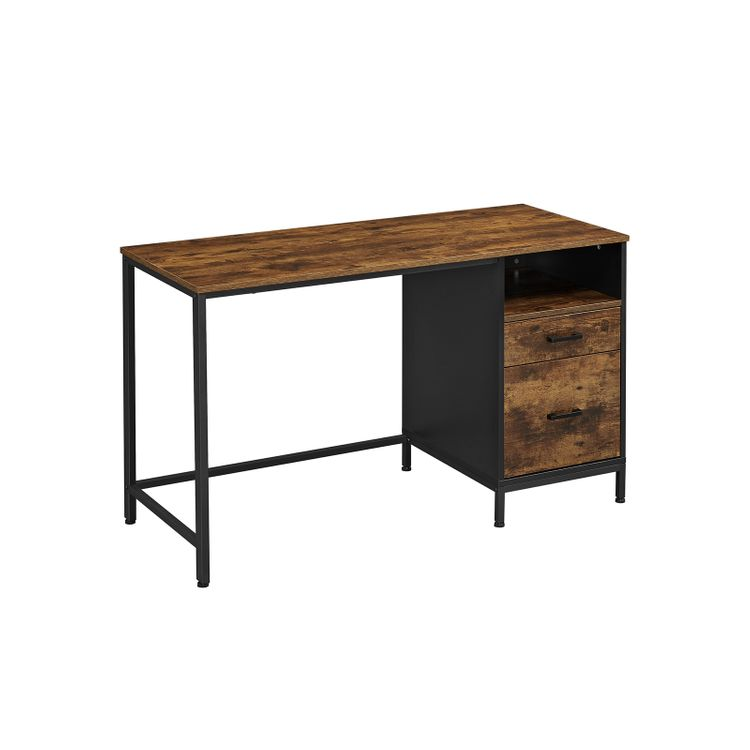 Computer Desk with File Cabinet