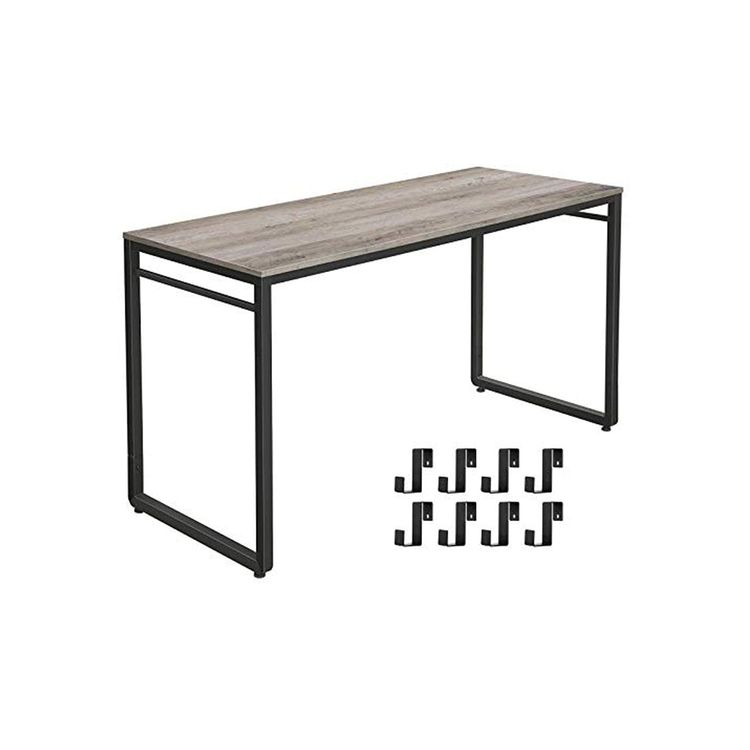 Computer Desk with Hooks