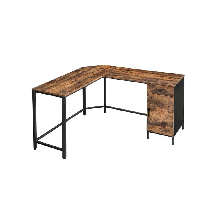 Office Desk with Cupboard