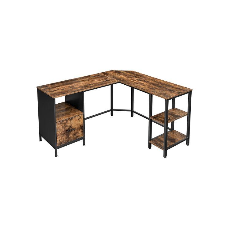 File Cabinet Integrated Desk