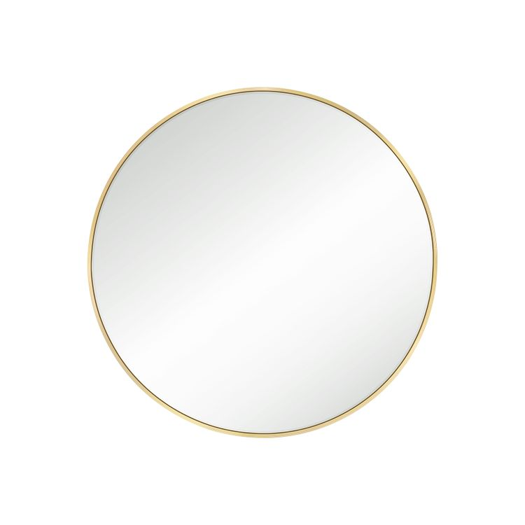 Round Wall Mirror Gold Color
