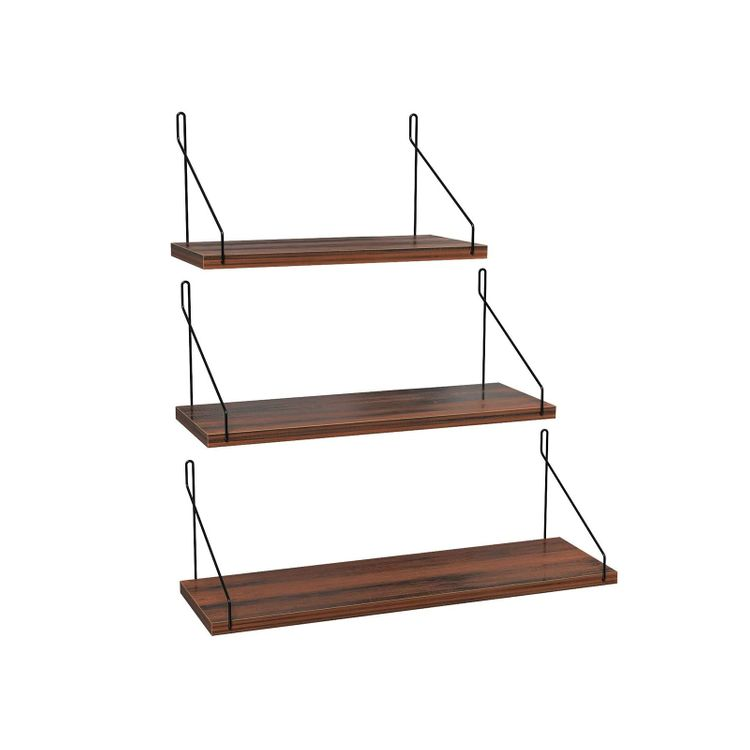 3 Floating Shelf Set