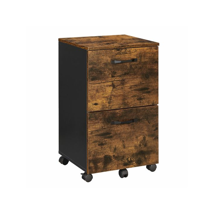Industrial 2 Drawer File Cabinet