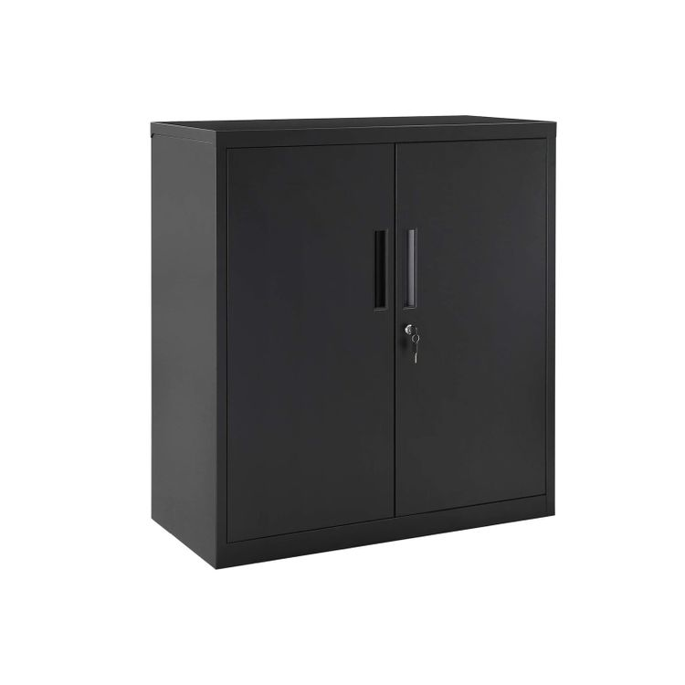 Office Cabinet with Storage Shelves