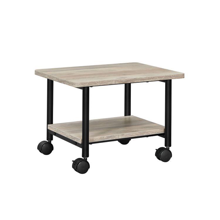 Industrial Under Desk Printer Stand