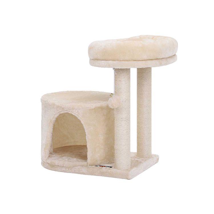 Beige Condo Cat Tree