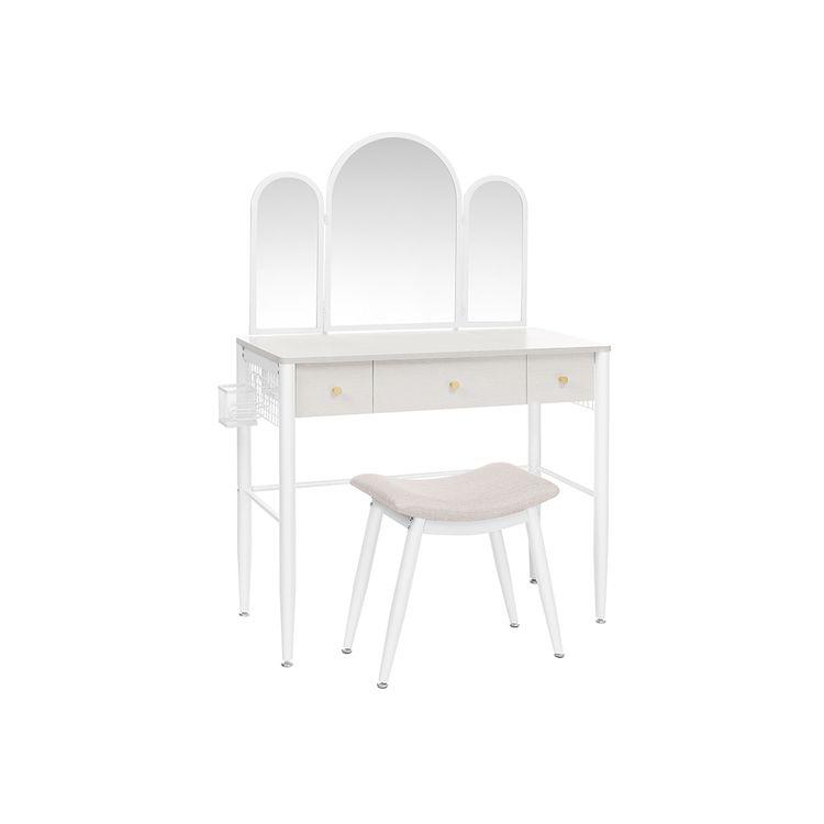 Arch Mirror Vanity Table