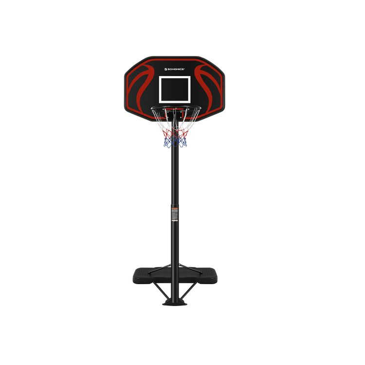 Adjustable Height Basketball Hoop