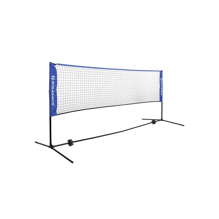 Blue Badminton Net