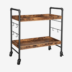 2-Tier Kitchen Trolley