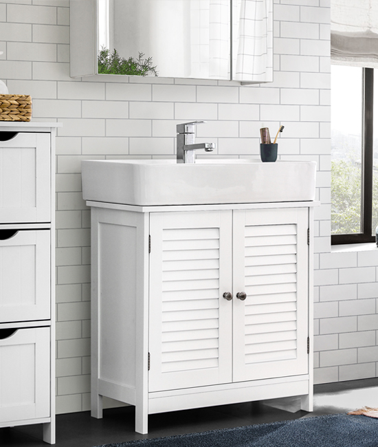 bathroom furniture sales banner