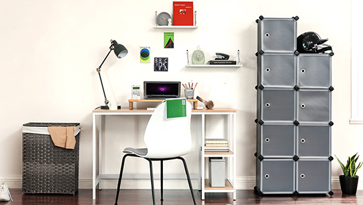 Simplified Home Office Nooks