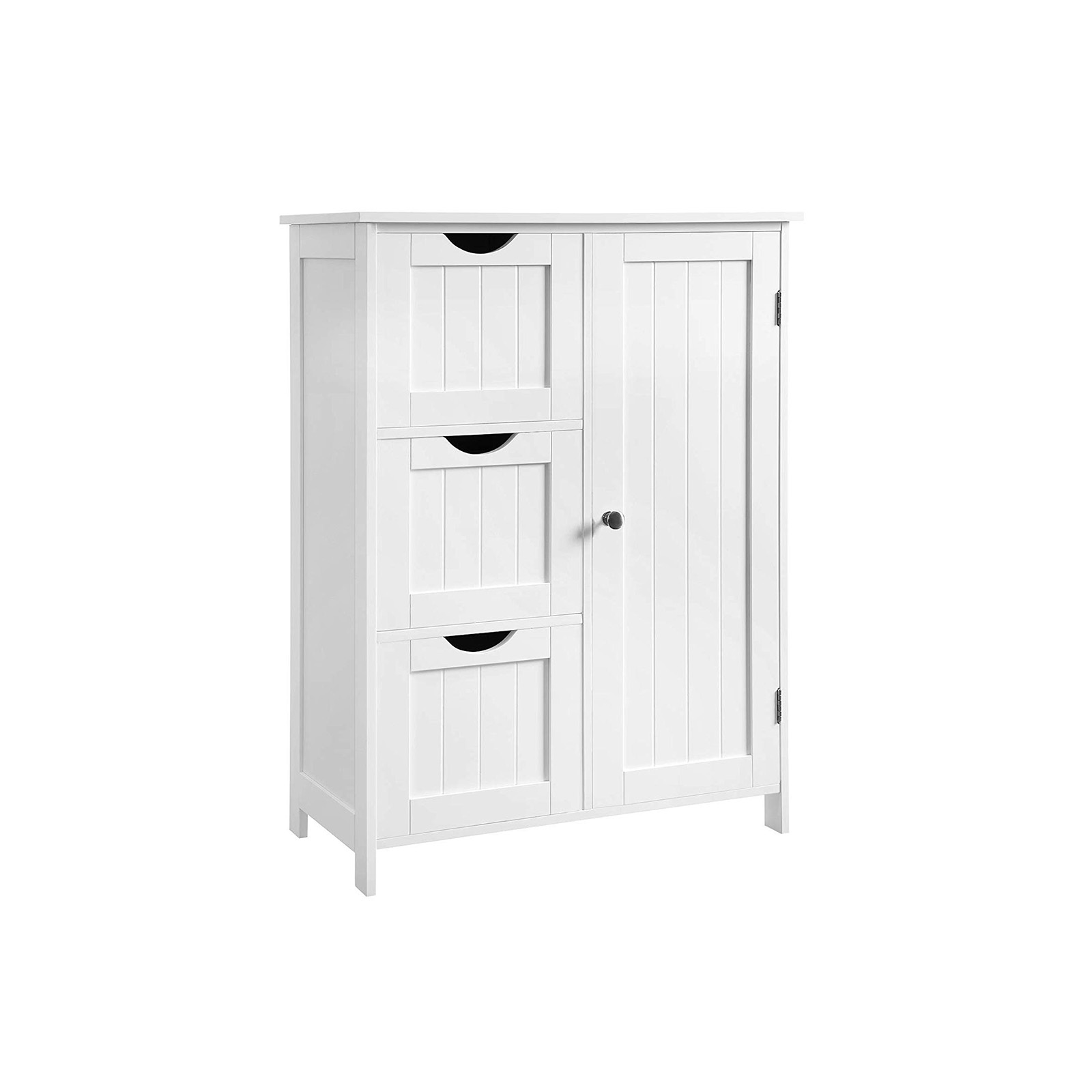 3 Drawers Bathroom Cabinet Cabinet Vasagle By Songmics